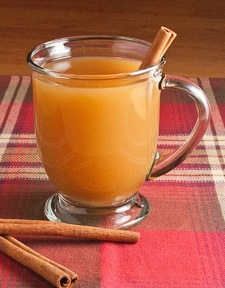 Mulled Cider with Rum